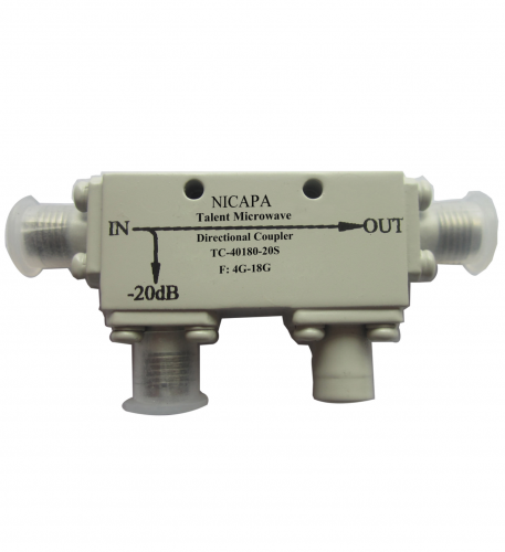 Nicapa Directional Coupler Talent Microwave TC-40180-20S F: 4G-18G