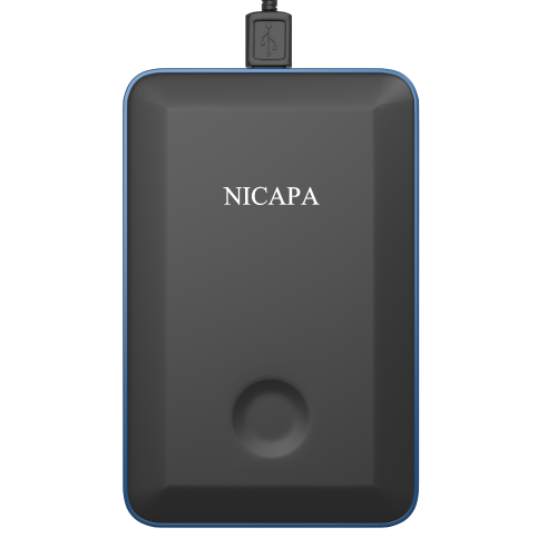 Nicapa Portable External Hard Drive USB Slim Black